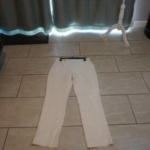 White Lauren Ralph Lauren Dress Pants